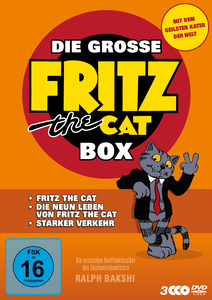 Die grosse Fritz the Cat Box | Dodax.ch