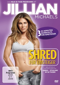 Jillian Michaels - Shred für Einsteiger, 1 DVD | Dodax.ch