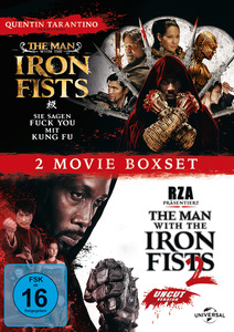 The Man with the Iron Fists 1 & 2 | Dodax.ch
