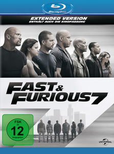 Fast & Furious 7, 1 Blu-ray + Digital UV (Extended Version) | Dodax.ch