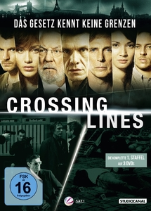 Crossing Lines, 3 DVDs. Staffel.1 | Dodax.ch