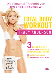 Tracy Anderson - Total Body Workout, 1 DVD | Dodax.ch