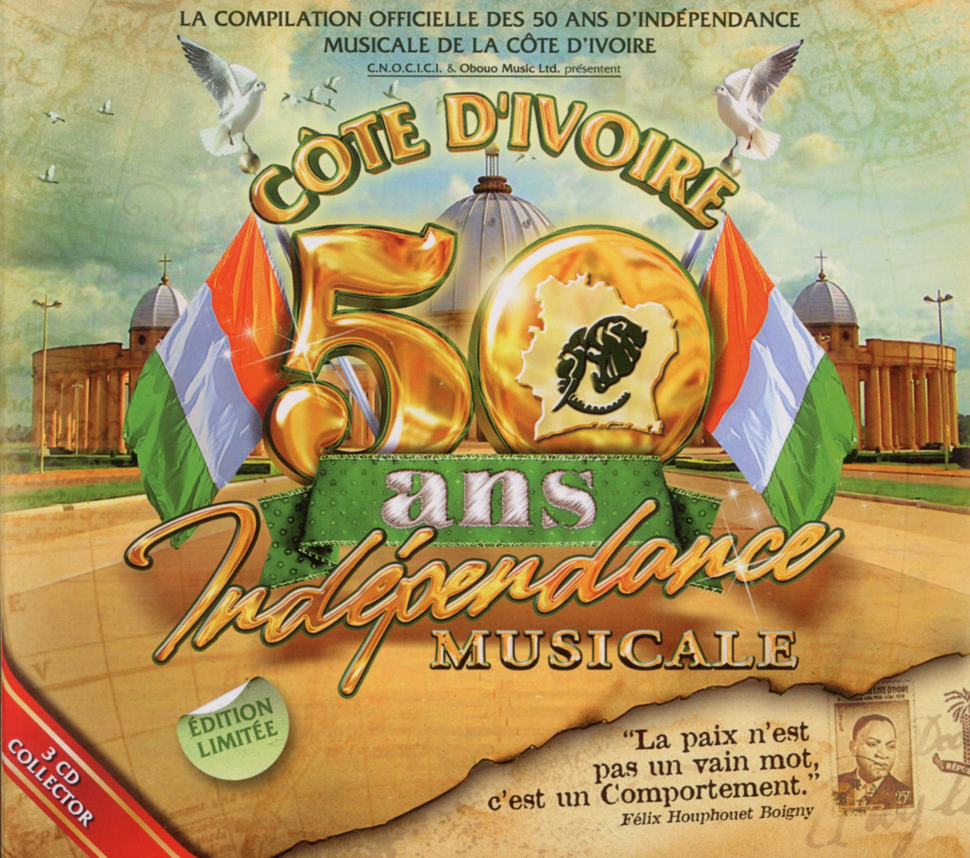Diverse-Africa-Cote-D-039-Ivoire-50-Ans-Independence-Musicale