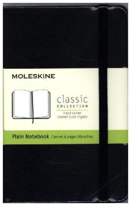 Moleskine classic, Pocket Size, Plain Notebook | Dodax.de
