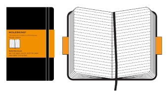 Moleskine classic, Large Size, Ruled Notebook | Dodax.ch