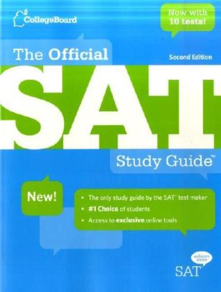 The Official SAT Study Guide | Dodax.ch