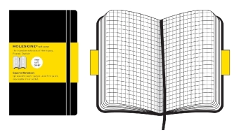 Moleskine soft, Extra Large Size, Squared Notebook | Dodax.ch
