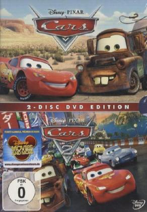 Cars + Cars 2 Collection, 2 DVDs | Dodax.de