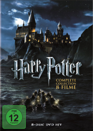 Harry Potter: The Complete Collection, 8 DVDs | Dodax.ch