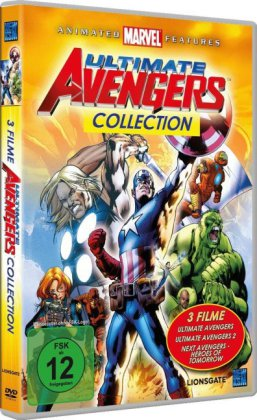 Ultimate Avengers - Collection - 3 auf 1 | Dodax.ch