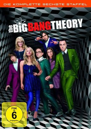 The Big Bang Theory, 3 DVDs. Staffel.6  | Dodax.ch