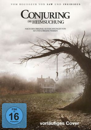 The Conjuring - Die Heimsuchung, 1 DVD + Digital UV  | Dodax.ch