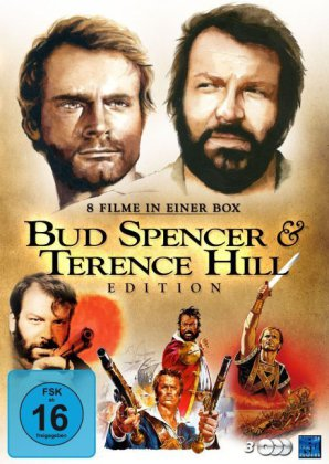 Bud Spencer & Terence Hill - 8 Filme Edition, 3 DVDs  | Dodax.ch
